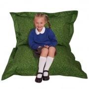 Grass Childrens Bean Bag Floor Cushion