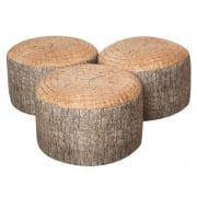 Learn About Nature - Woodland Tree Stump Stool (3 Pack)