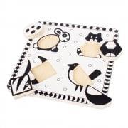 Pets Black & White Puzzle