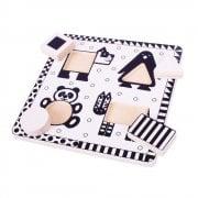 Animals Black & White Puzzle