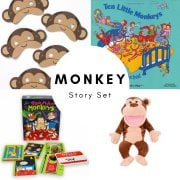 Little Monkeys Story Set