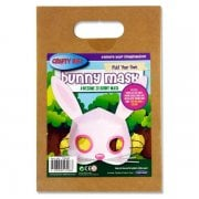 Fold Your Own 3D Easter Bunny Mask