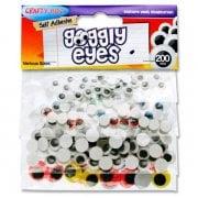 Googly Eyes Pk 200