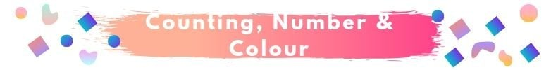 Counting, Number & Colour