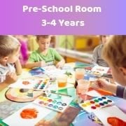 Pre-School Room 3-4 Years