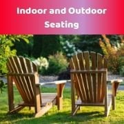 Indoor & Outdoor Seating
