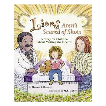 Lions Arent Scared of Shots Book