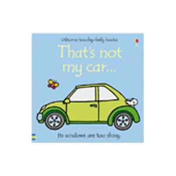 Usborne Thats Not My Car Book - Interactive, sensory book