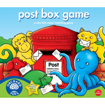Orchard Toys Post Box Game - A First colour and matching game