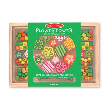 Melissa and Doug Flower Power Bead Set - Jewellery Making Fine Motor Skills Set