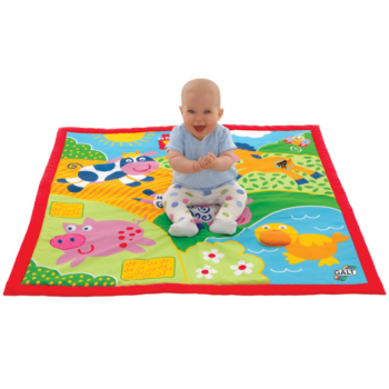 Galt Large Playmat - Farm - multi-sensory padded mat