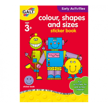 Galt Colour, Shapes and Sizes * Home Learning Book
