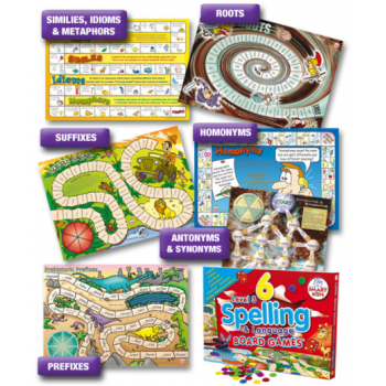 Smart Kids 6 Spelling and Language Board Games 3