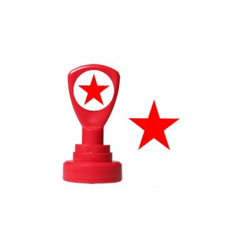 Stamper- Red Star