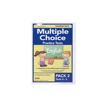 Multiple Choice Practice Tests in English Pack 2