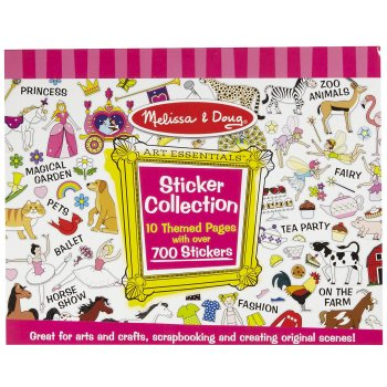 Melissa and Doug Sticker Collection - Pink