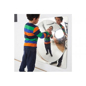 Giant Single Dome Mirror Panel Acrylic Mirror Convex 780mm