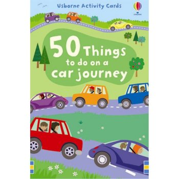 Usborne Activity Cards 50 things to do on a car journey- Flash Cards