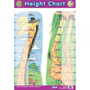 Height Chart Poster