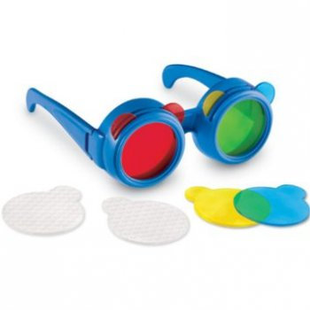 Learning Resources Primary Science Colour Mixing Glasses