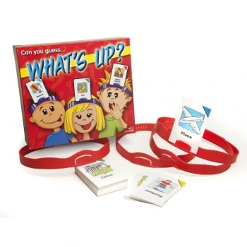 Whats Up? Headband Game - Encourage interaction and imagination