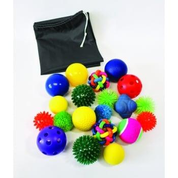Sensory Ball Pk20 Assorted