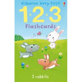 Usborne Very First 123 Flashcards - Early numeracy help