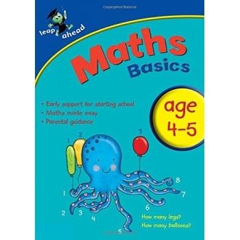 Leap Ahead Maths Basics 4-5 Workbook