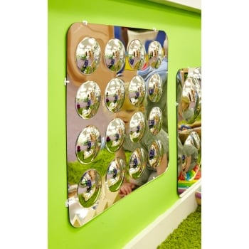 Large 16 Dome Mirror Panel Acrylic Mirror Convex 490mm