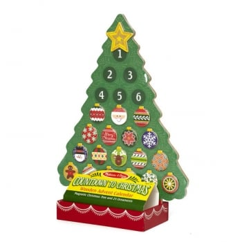 Melissa and Doug Countdown to Christmas Wooden Advent Calendar