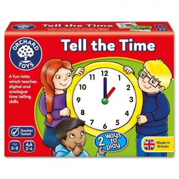 Orchard Toys Tell the Time - A unique way to learn the time
