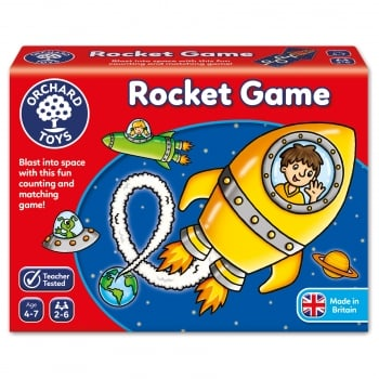 Orchard Toys Rocket Game - A fun counting and matching game