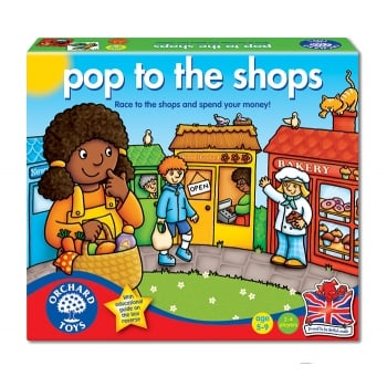 Orchard Toys Pop to the Shops - handling money and giving change