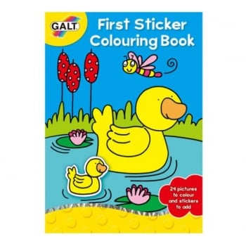 Galt First Sticker Colouring Book *