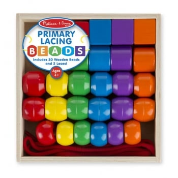 Melissa and Doug Primary Lacing Beads