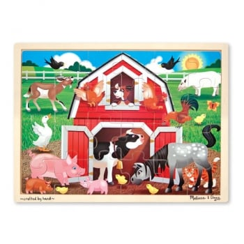 Melissa and Doug Barnyard Farm Jigsaw 24 pieces