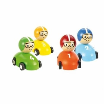Bigjigs Pull Back Racing Cars