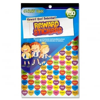 Clever Kidz 750+ Reward Stickers