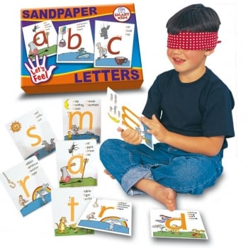 Smart Kids Sandpaper Letters - Sensory and tactile way to learn the alphabet