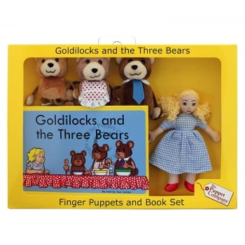 Puppet Company Goldilocks & The Three Bears Puppets Box Set