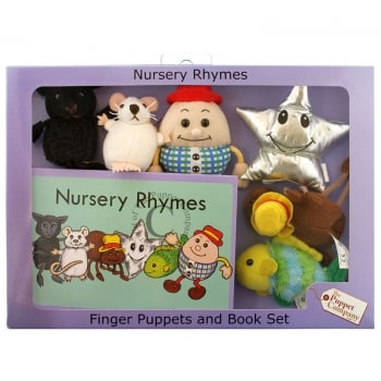 Nursery Rhymes Traditional Puppets Box Set
