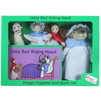Little Red Riding Hood Puppets Box Set