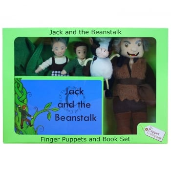 Jack And the Beanstalk Puppets Box Set