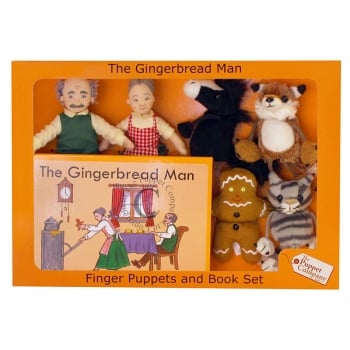 The Gingerbread Man Puppets Box Set