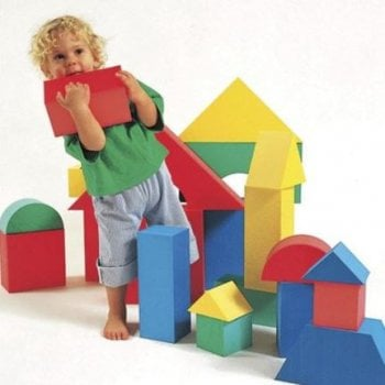 Edushape Giant Foam Soft Building Blocks (16pcs)