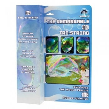 Remarkable Tri-String Bubble Wand