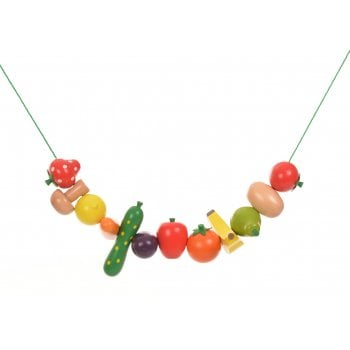Lacing And Threading Fruit/Vegetables 24 Pcs