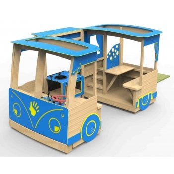 Giant Wooden Play Camper