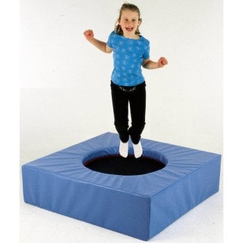 Trampoline with Softplay Plinth**