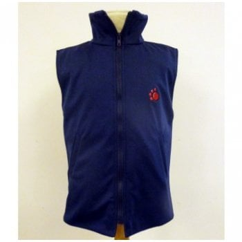 Weighted Waistcoat Jacket Navy Adult*